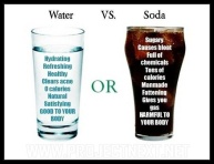 Water VS. Soda